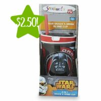 Kmart: Star Wars 2-in-1 Cup & Snack Holder Only $2.50 (Reg. $10)