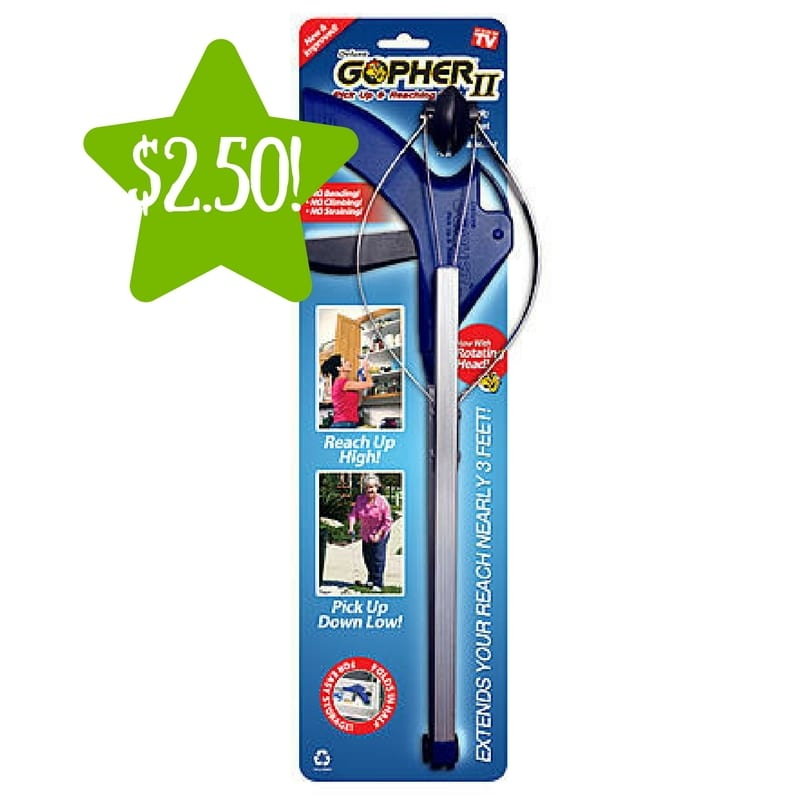Kmart: As Seen On TV Deluxe Gopher 2 Only $2.50