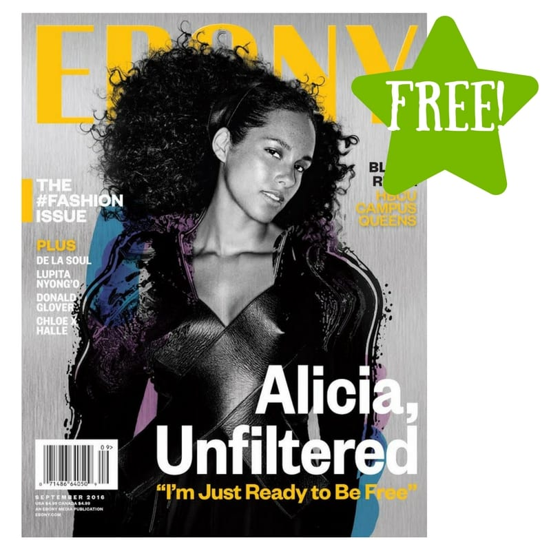 FREE Ebony Magazine Subscription
