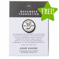 FREE Movember Foundation 5 Year Token