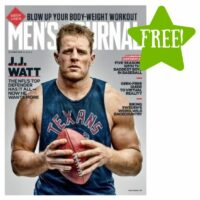 FREE Men's Journal Magazine 2 Year Subscription