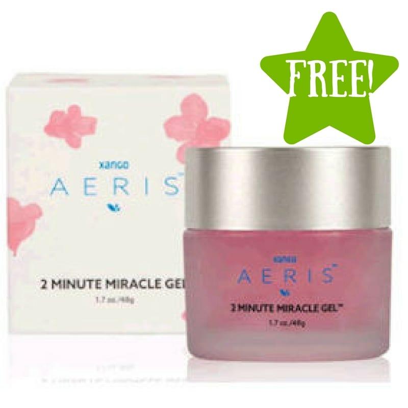 FREE XANGO Aeris 2 Minute Miracle Gel Sample