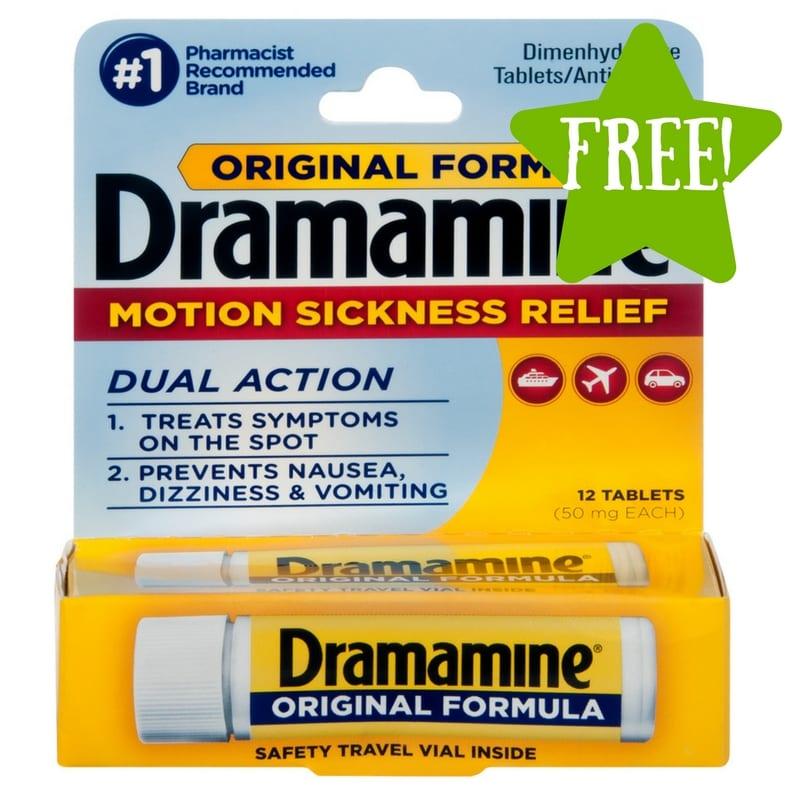 Dollar Tree: FREE Dramamine