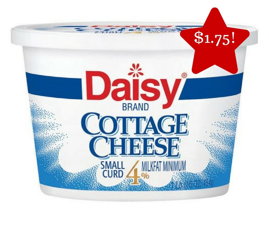 Tops Daisy Cottage Cheese Only 1 75