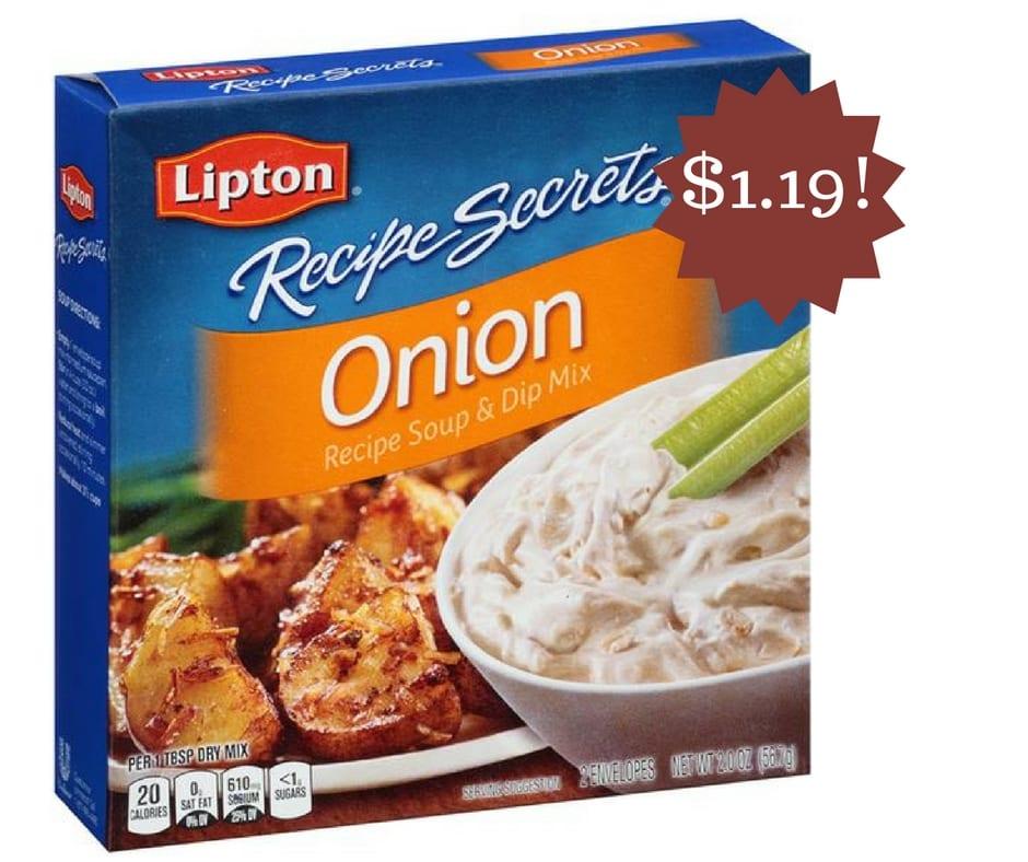 Wegmans: Lipton Recipe Secrets Recipe Soup Only $1.19