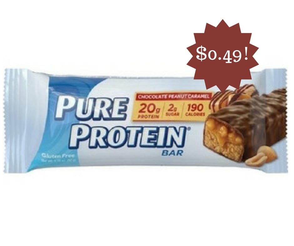 Wegmans: Pure Protein Bars Only $0.49
