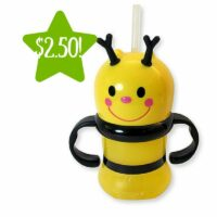Kmart: Essential Home Shaped Bee with Straw Cup Only $2.50