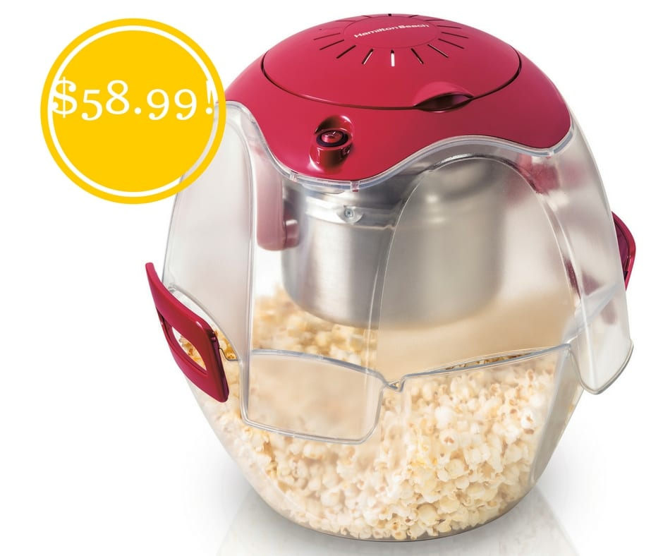 walmart  hamilton beach party popcorn maker only  58 99