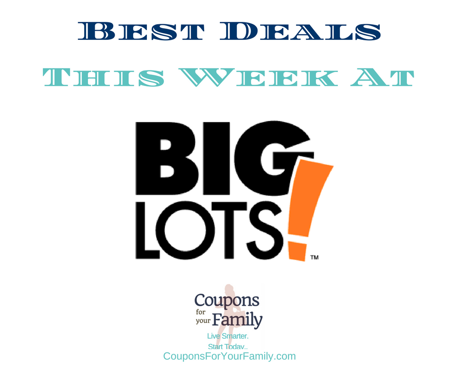 Big Lots Sale Deals 5/19-6/2:  $2.50 Heinz Ketchups, $4.77 Angel Soft Bath Tissue, $4.99 Sun Detergent & more