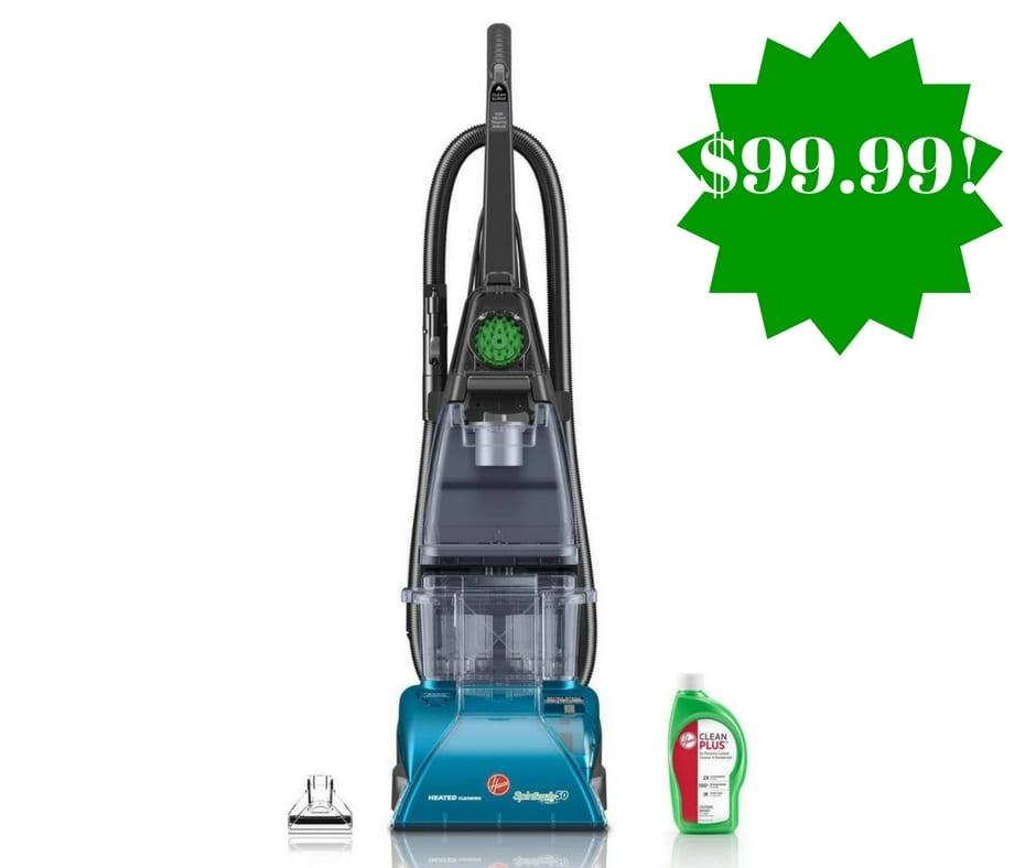 Amazon: Hoover Carpet Cleaner SteamVac Only $99.99 Shipped