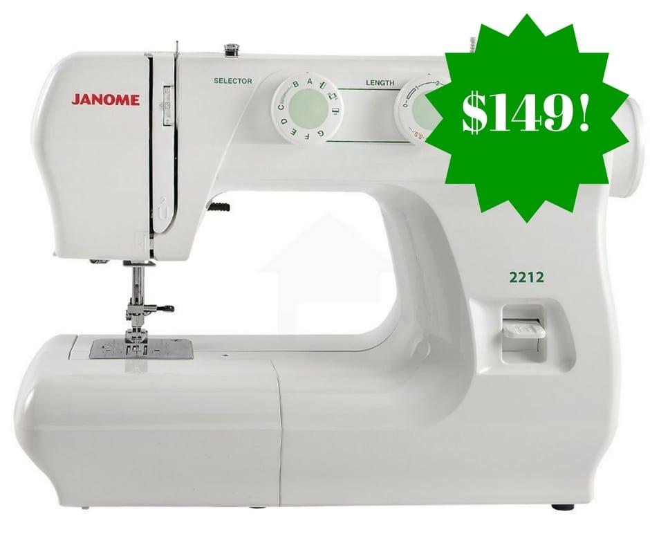 Amazon Janome 40 Sewing Machine Only 40 Shipped Fascinating Janome Sewing Machine 2212