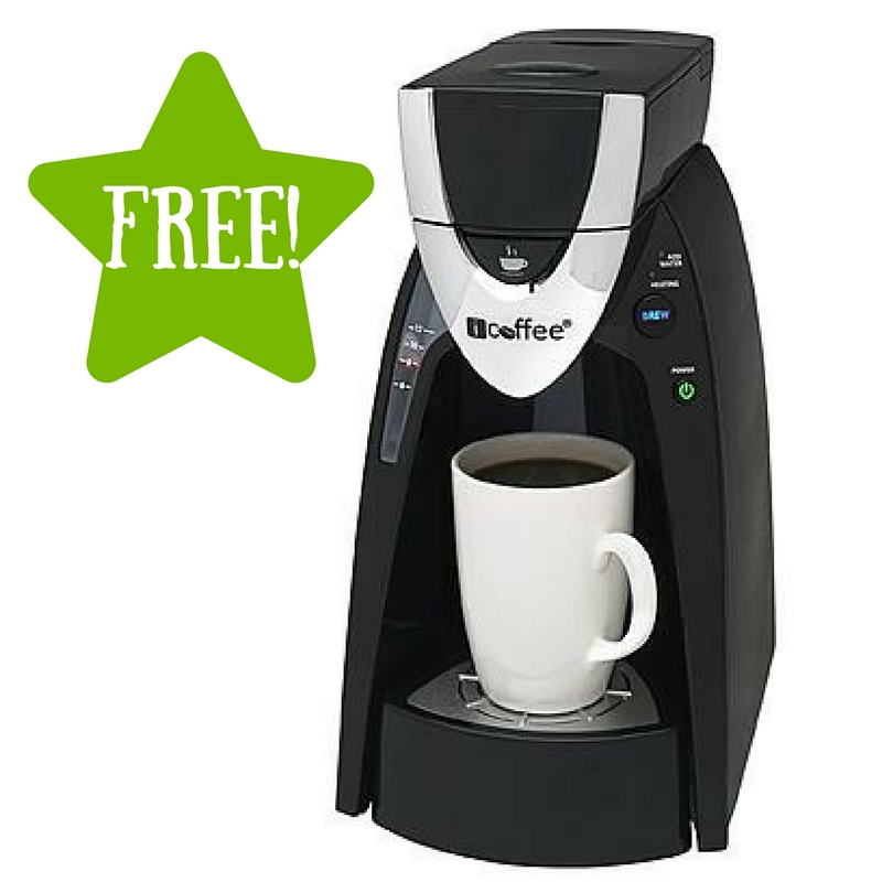 Sears: FREE ICoffee Express Single Serve Coffee Maker After Points (Reg USD 25)