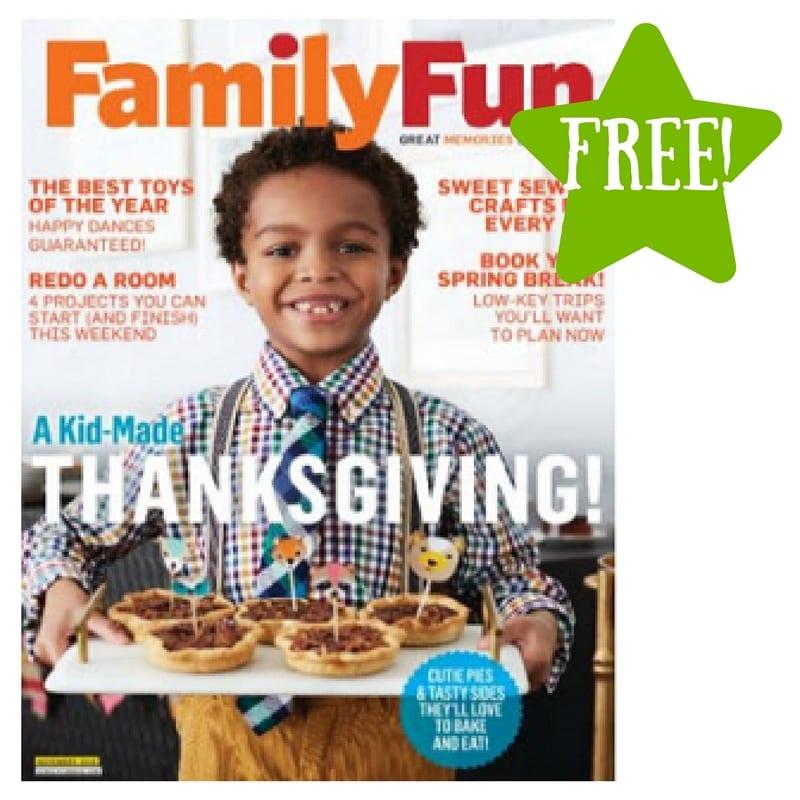 free family fun magazine subscription. Black Bedroom Furniture Sets. Home Design Ideas