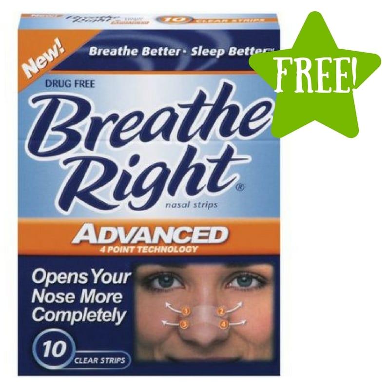 Dollar Tree: FREE Breathe Right Nasal Strips