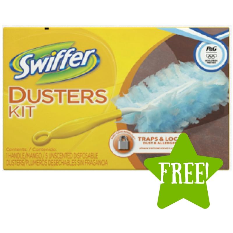 Dollar Tree: FREE Swiffer Duster Starter Kit