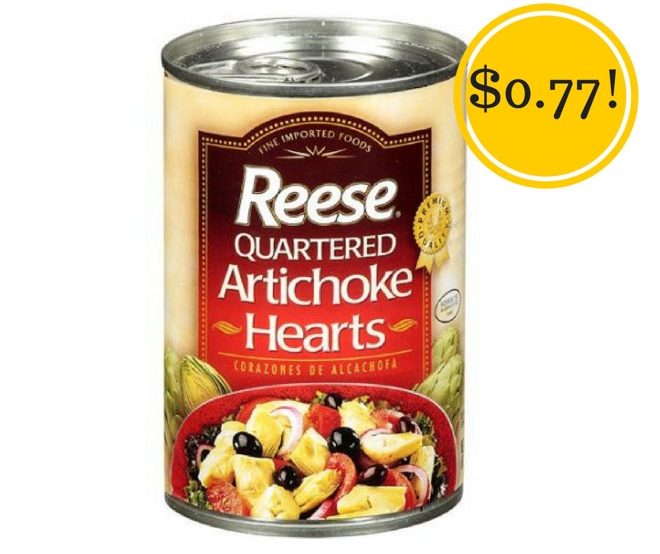 Target: Reese Artichoke Hearts Only $0.77