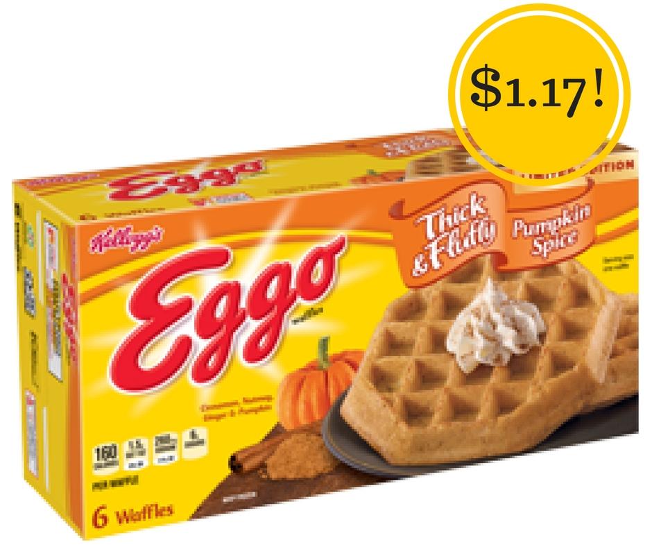 Target: Kellogg's Eggo Pumpkin Spice Waffles Only $1.17