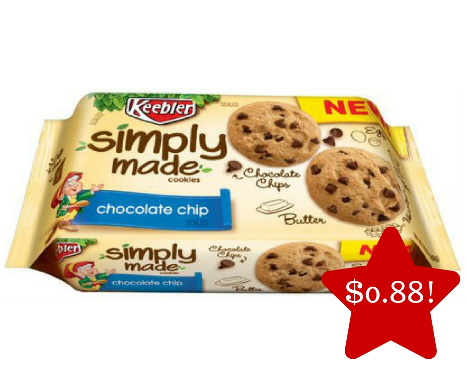 Tops: Keebler Simply Made Cookies Only $0.88