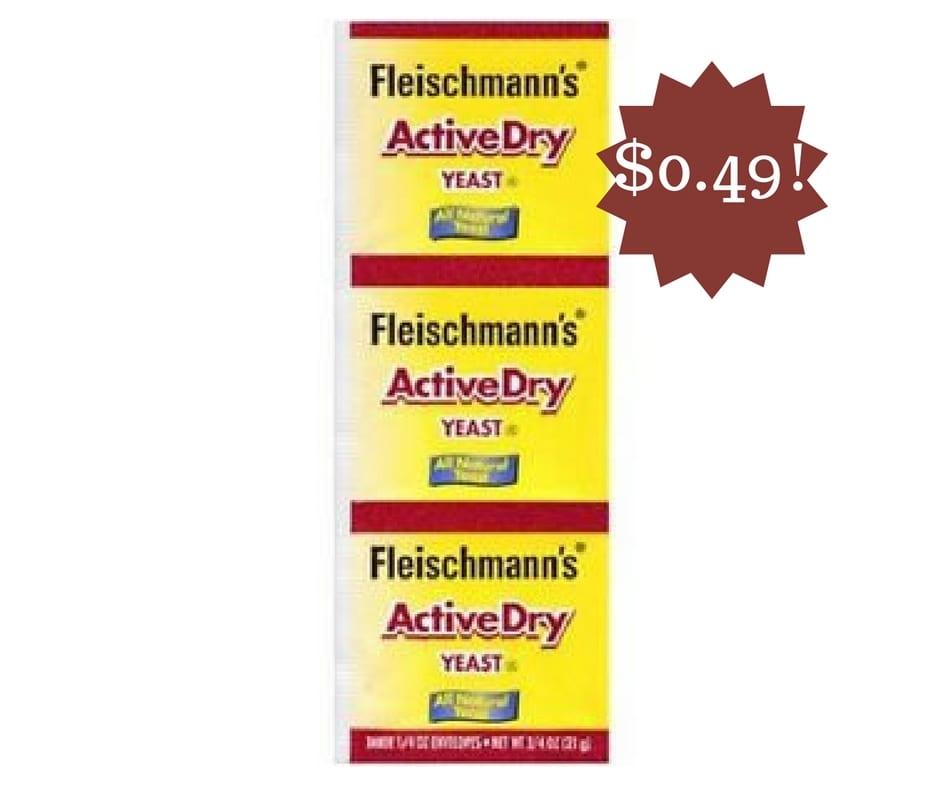 Wegmans: Fleischmann's ActiveDry Yeast Only $0.49