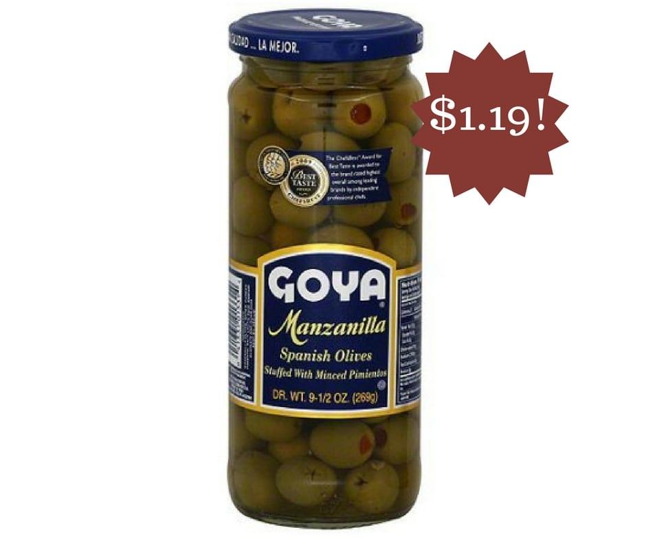 Wegmans: Goya Olives Only $1.19