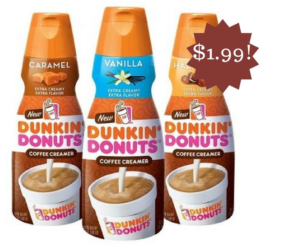 Copy of Wegmans template Dunkin Donuts Coffee Creamer Coupon