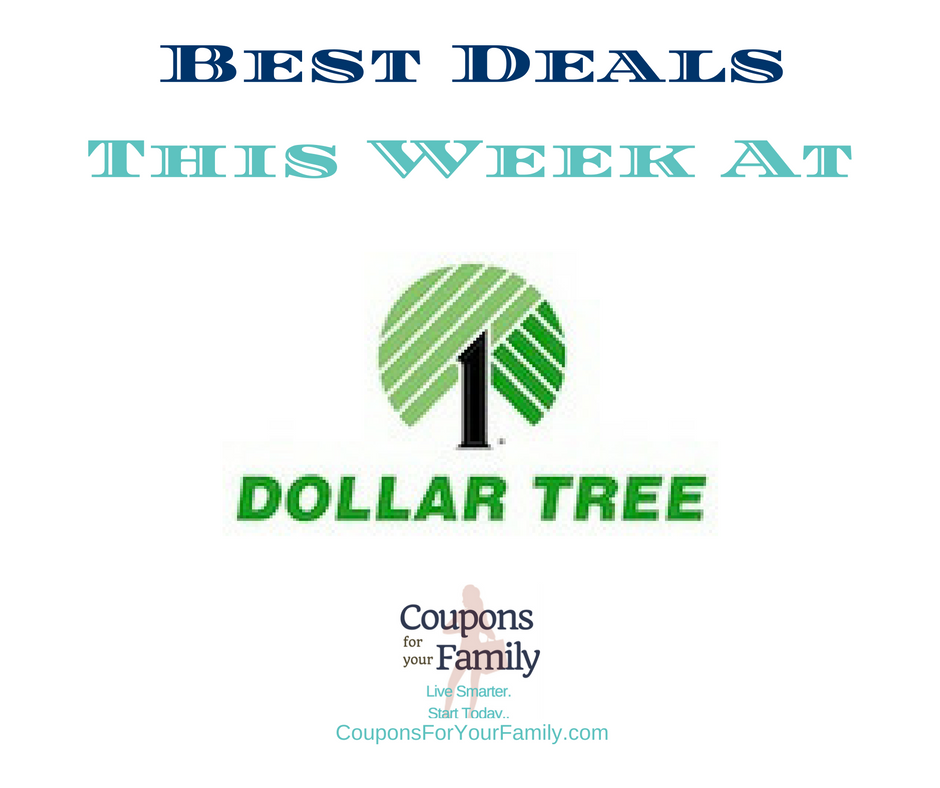 Dollar Tree coupons and Deals