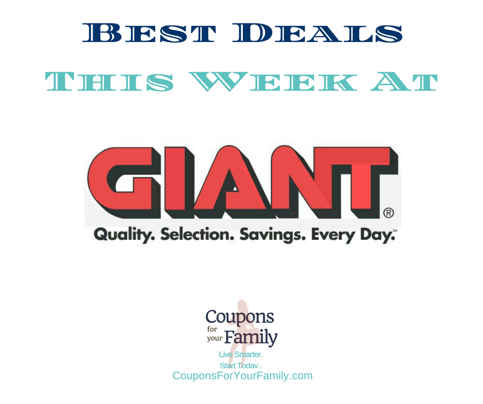 Giant Coupons & Deals 7/7-7/13:  $1.49 Febreze Products, $0.50 Newman's Dressing, $0.49 Barbasol Shave Cream & more