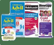 Brand New SavingStar Ecoupon!Infants' Advil®, Children's Advil®, Children's Robitussin®, or Children's Dimetapp® product