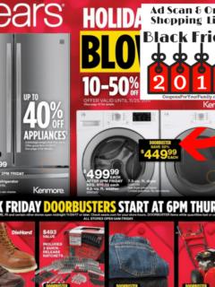 Sears Black friday Ad Scan