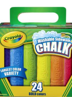sidewalk chalk walmart