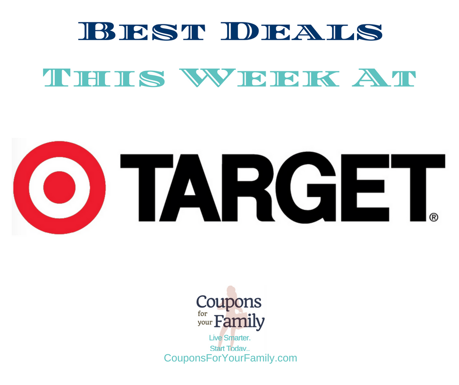 Best Target Deals this week 8/12-8/18:  $3.99 Ziploc Storage Bags, $8.99 Rhinocort Allergy Spray, $5.99 All Detergent & more