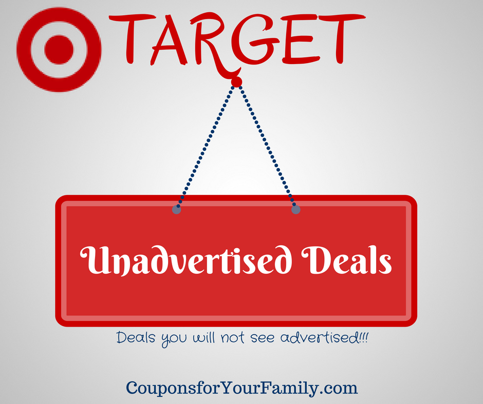unadvertised target deals