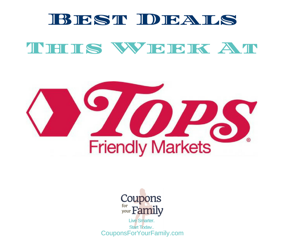 Check out this weeks best Tops Friendly Markets Deals 12/16-12/22 !!