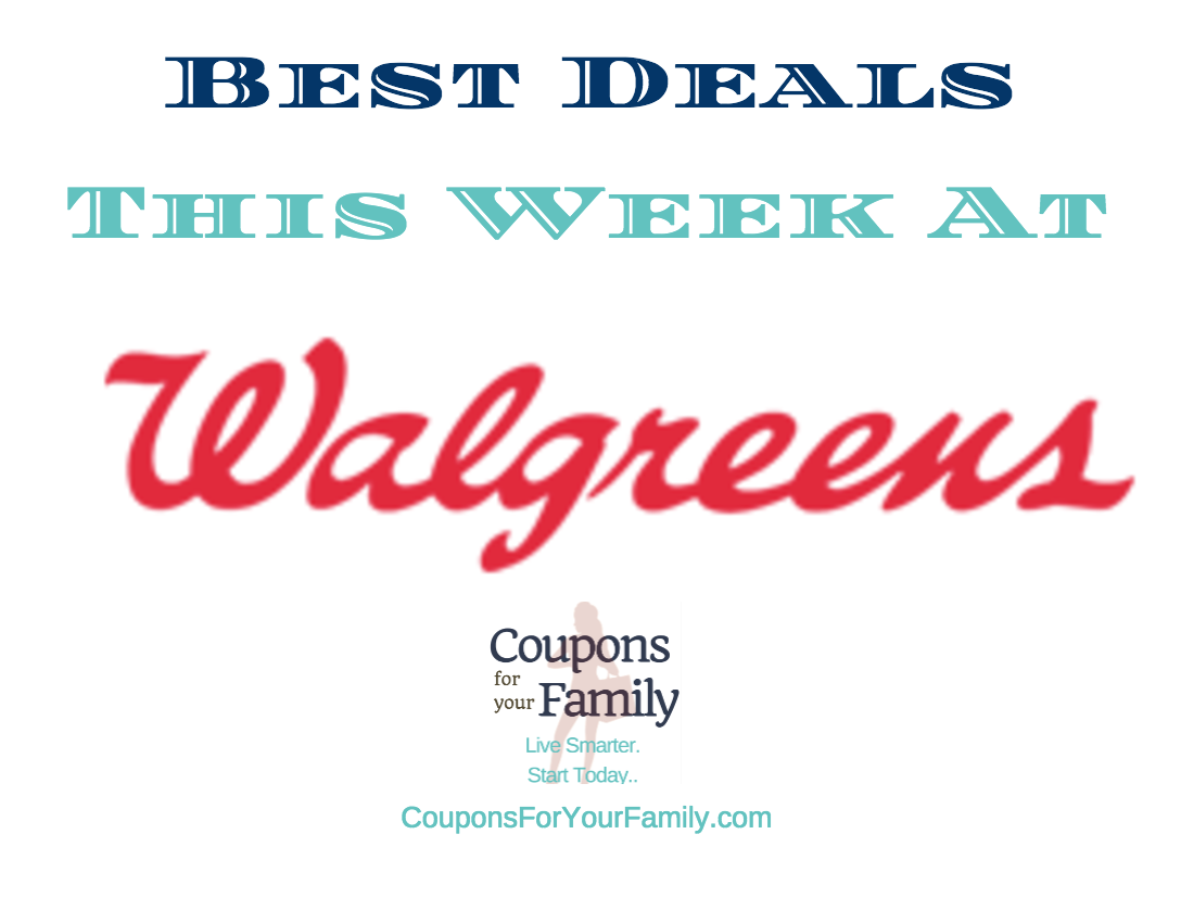 Walgreens Deals this week