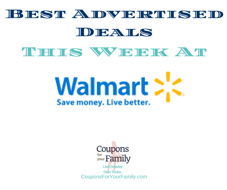 Walmart Coupons & Deals this Week 9/17-9/28: $0.50 Shea Mud Mask, $0.98 Glade Candle, $3.64 Biore Charcoal Bar & more |