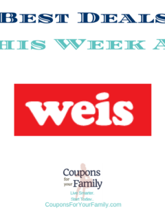 Weis Coupons & Deals