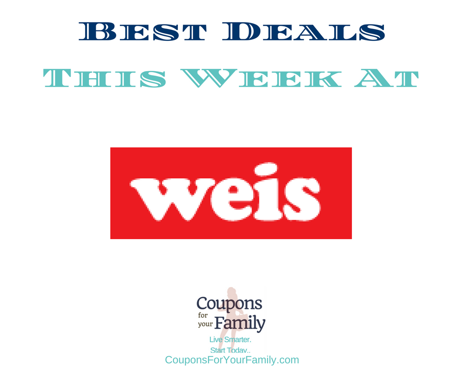 Weis Coupons & Deals 7/6-7/12:  $0.87 Keebler Cookies, $0.50 Knorr Side Dishes, $0.99 Crest Toothpaste & more