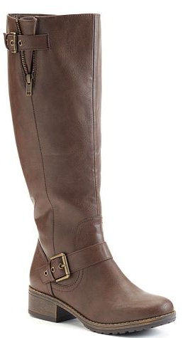 a66c1b7e38f Kohls Black Friday Deal: SO Women's Harness Riding Boots ONLY $19.99