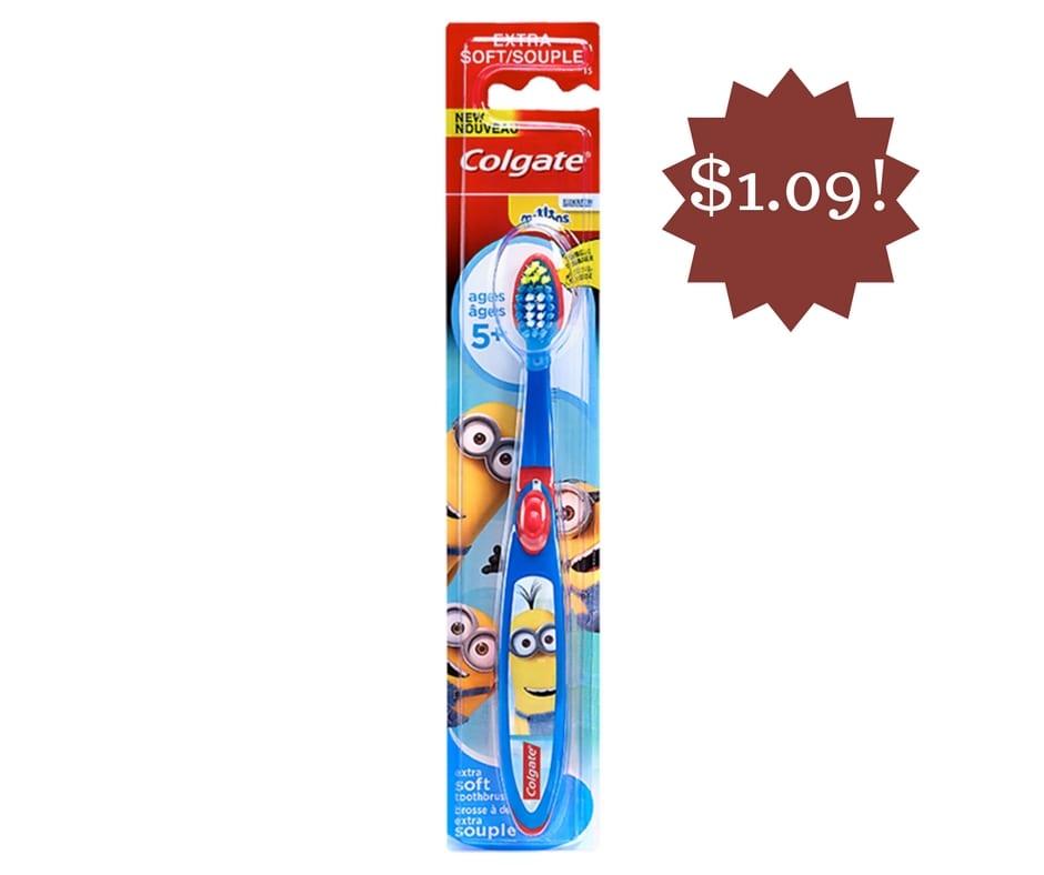 Wegmans: Colgate Kids Manual Toothbrush Only $1.09