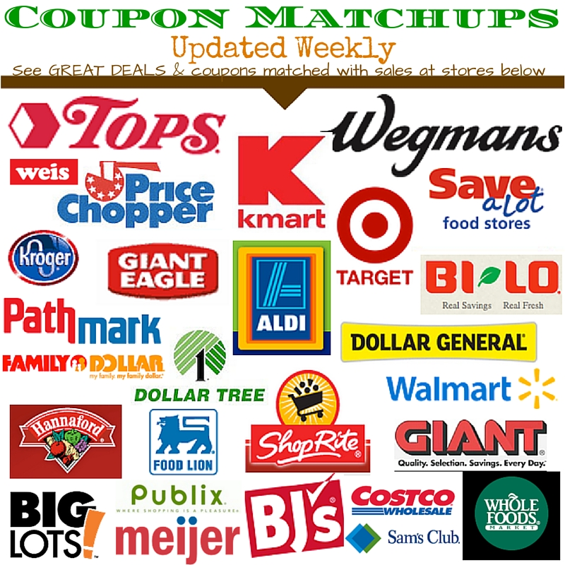 drugstore grocery coupon matchups