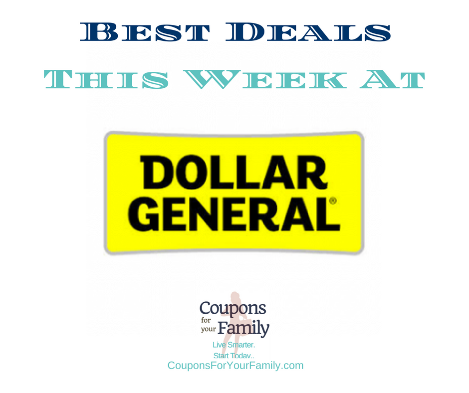 Best deals using coupons this week