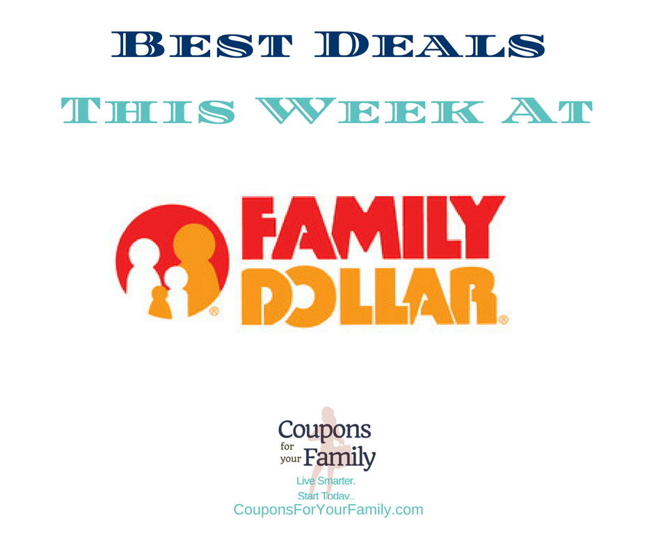 Family Dollar Coupons & Deals 7/9-7/30:  $4.50 Downy Unstopables, $1.75 Persil Detergent, $3.50 Summer's Eve & more