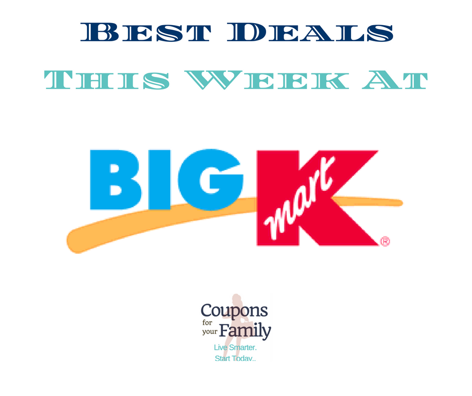 Kmart Sales & Coupon Matchups 8/12-8/25:  $3.50 Smart Sense Water, $1.00 7UP 2L & more