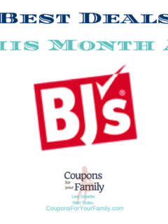 BJs WHolesale Club Deals