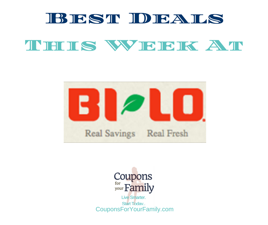 Couponing at Bi Lo and Best Deals Archives Coupons For Your Family
