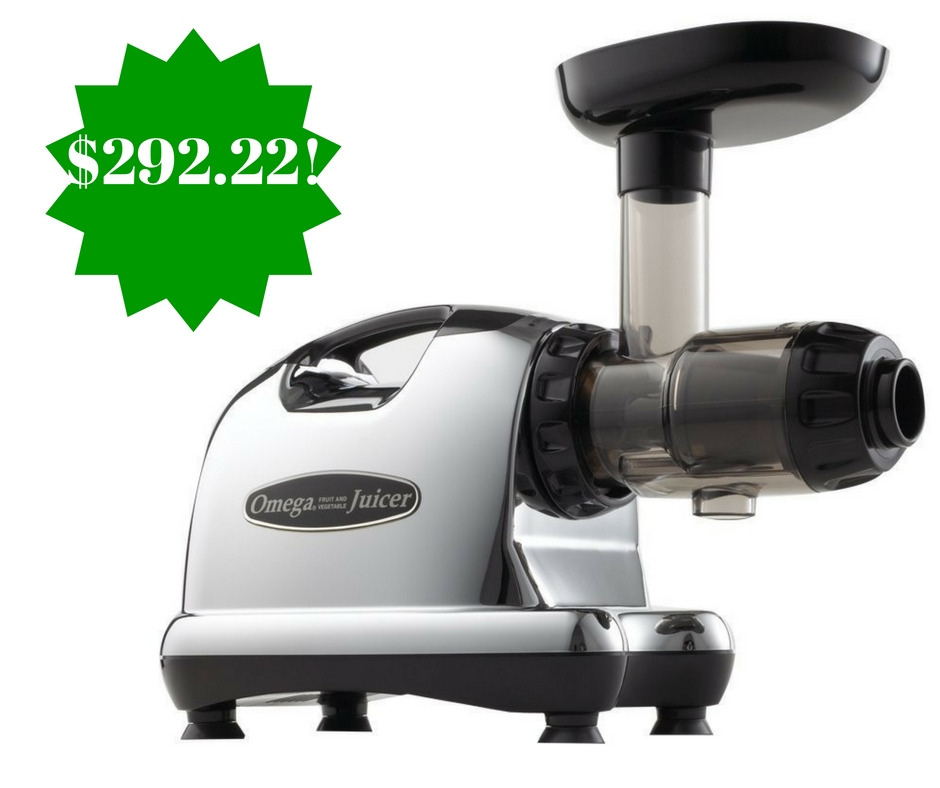 Amazon: Omega J8006 Nutrition Center Juicer Only $292.22 Shipped