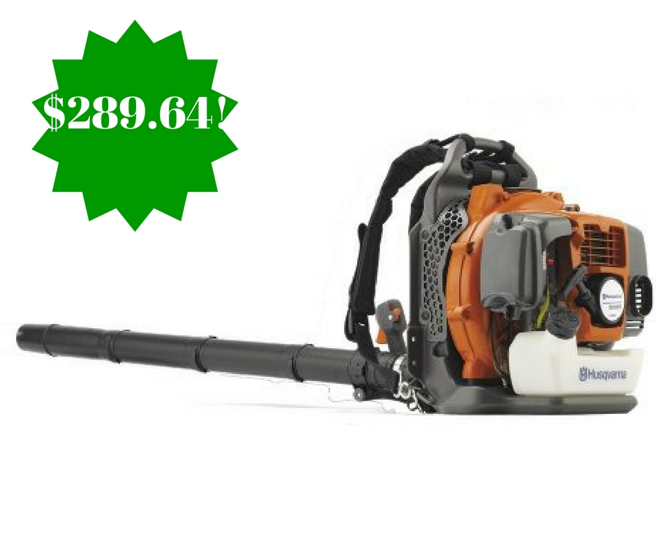 Amazon: Husqvarna Backpack Leaf Blower Only $289.64 Shipped