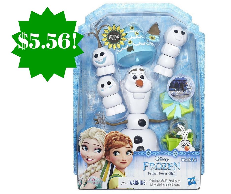 Amazon: Disney Frozen Fever Olaf Only $5.56 (Reg. $15)