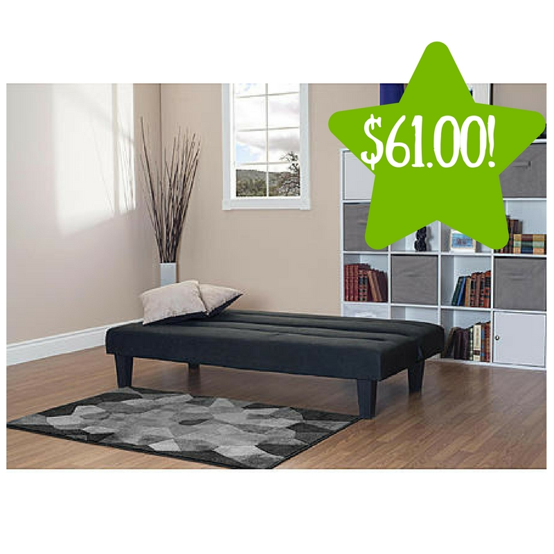 Kmart Essential Home Cruz Convertible Futon Only 61 Reg 160