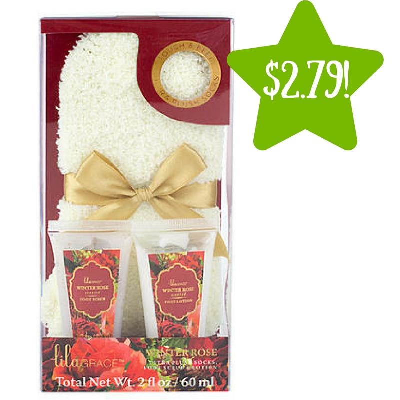 Sears: Tri-Coastal Lila Grace Cozy Sock Set Only $2.79 (Reg. $7)